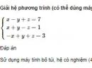 Bài 43 trang 97 SGK Đại số 10 nâng cao