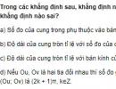 Bài 1 trang 190 SGK Đại số 10 Nâng cao