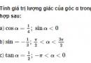 Bài 18 trang 200 SGK Đại số 10 Nâng cao