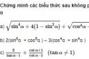 Bài 23 trang 201 SGK Đại số 10 Nâng cao