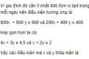 Bài 44 trang 132 SGK Đại số 10 nâng cao