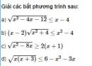 Bài 85 trang 156 SGK Đại số 10 nâng cao