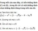 Bài 87 trang 156 SGK Đại số 10 nâng cao