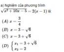 Bài 89 trang 157 SGK Đại số 10 nâng cao