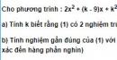 Bài 6 trang 221 SGK Đại số 10 Nâng cao