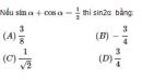 Bài 60 trang 219 SGK Đại số 10 Nâng cao