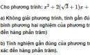 Bài 7 trang 221 SGK Đại số 10 Nâng cao