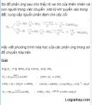 Câu 3 trang 55 SGK Hóa học 11 Nâng cao