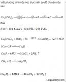 Câu 3 trang 62 SGK Hóa học 11 Nâng cao
