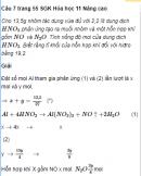 Câu 7 trang 55 SGK Hóa học 11 Nâng cao