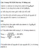 Câu 1 trang 118 SGK Hóa học 11 Nâng cao