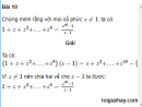 Bài 10 trang 190 SGK Đại số và Giải tích 12 Nâng cao