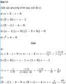 Bài 13 trang 191 SGK Đại số và Giải tích 12 Nâng cao