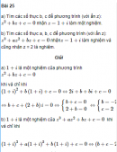 Bài 25 trang 199 SGK Đại số và Giải tích 12 Nâng cao