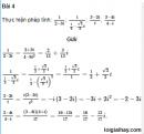 Bài 4 trang 189 SGK Đại số và Giải tích 12 Nâng cao