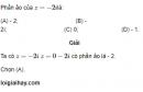 Bài 44 trang 210 SGK giải tích 12 nâng cao