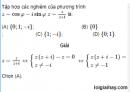 Bài 48 trang 210 SGK giải tích 12 nâng cao