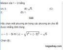 Bài 49 trang 210 SGK giải tích 12 nâng cao