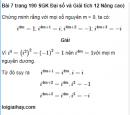 Bài 7 trang 190 SGK Đại số và Giải tích 12 Nâng cao