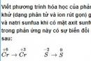 Bài 4 trang 194 SGK hóa học 12 nâng cao