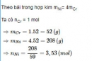 Bài 5 trang 190 SGK hóa học 12 nâng cao