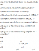 Câu 1 trang 150 SGK Hóa học 11 Nâng cao