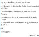 Câu 1 trang 153 SGK Hóa học 11 Nâng cao