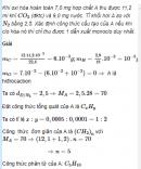 Câu 6 trang 151 SGK Hóa học 11 Nâng cao