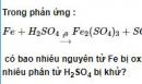 Bài 3 trang 222 SGK hóa học 12 nâng cao
