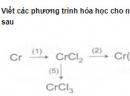 Bài 4 trang 222 SGK hóa học 12 nâng cao