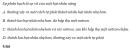 Câu 1 trang SGK 287 Vật Lý 12 Nâng cao