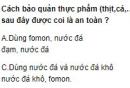 Bài 2 trang 266 SGK hóa học 12 nâng cao