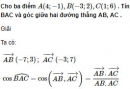 Bài 16 trang 90 SGK Hình học 10 Nâng cao