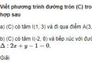 Bài 22 trang 95 SGK Hình học 10 Nâng cao