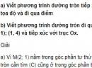 Bài 25 trang 95 SGK Hình học 10 Nâng cao