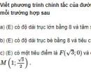Bài 32 trang 103 SGK Hình học 10 Nâng cao