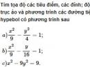 Bài 37 trang 109 SGK Hình học 10 Nâng cao