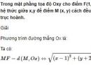 Bài 47 trang 114 SGK Hình học 10 Nâng cao