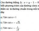 Bài 48 trang 114 SGK Hình học 10 Nâng cao