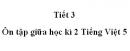 Tiết 3 - Ôn giữa học kì II trang 101 SGK Tiếng Việt 5 tập 2