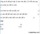 Câu 1 trang 164 SGK Hóa học 11 Nâng cao