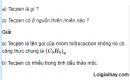 Câu 1 trang 173 SGK Hóa học 11 Nâng cao