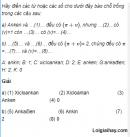 Câu 2 trang 181 SGK Hóa Học 11 Nâng cao
