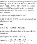 Câu 5 trang 169 SGK Hóa học 11 Nâng cao