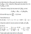 Câu 8* trang 182 SGK Hóa học 11 Nâng cao