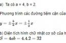Bài 8 trang 128 SGK Hình học 10 nâng cao