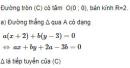 Bài 9 trang 119 SGK Hình học 10 nâng cao