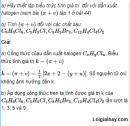 Câu 1 trang 219 SGK Hóa học 11 Nâng cao