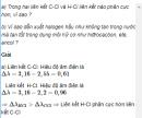 Câu 2 trang 219 SGK Hóa Học 11 Nâng cao