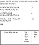 Câu 2 trang 224 SGK Hóa Học 11 Nâng cao